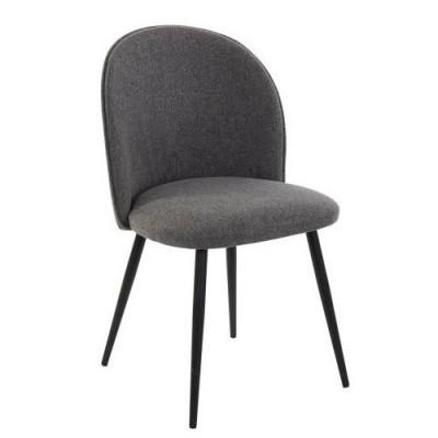 Cadeira Round Cinzento Escuro