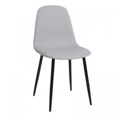 Cadeira Industrial Cinzento