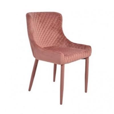 Cadeira Velvet Rosa