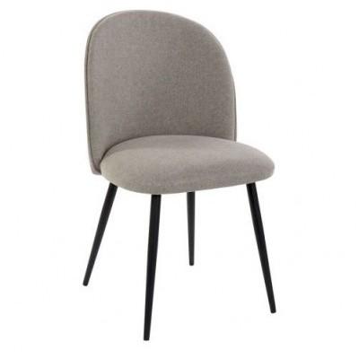 Cadeira Round Castanho Claro