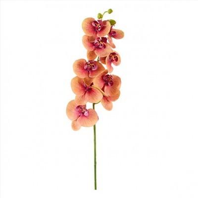 Flor Orquídea Laranja (Altura - 100 cm)
