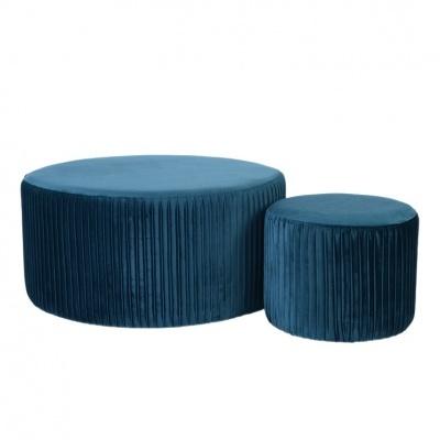 Conjunto Puffs Blue