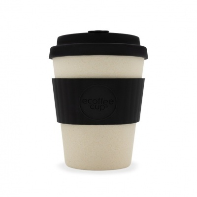 ECOFFEE CUP® BLACK NATURE 12OZ | 350ML