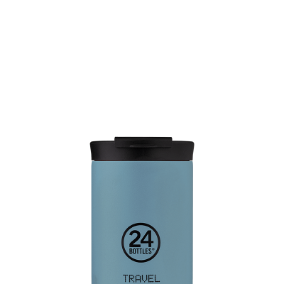 TRAVEL TUMBLER - POWDER BLUE 350ML