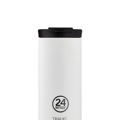 TRAVEL TUMBLER - ICE WHITE 600ML