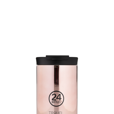 TRAVEL TUMBLER - ROSE GOLD 350ML