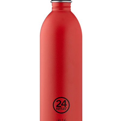 URBAN BOTTLE - HOT RED 1000ML