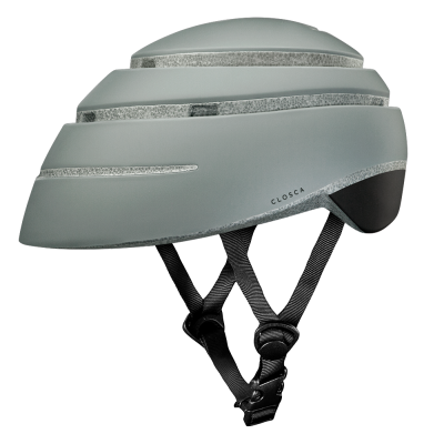 CLOSCA™ HELMET LOOP FOSSIL/BLACK