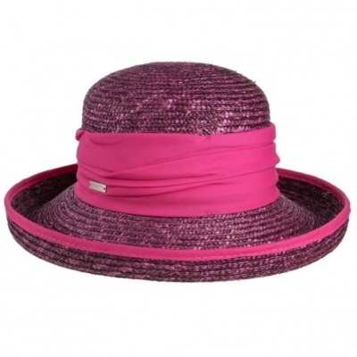 Seeberger Hat 1S 26 - Berry Red