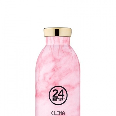 CLIMA BOTTLE - PINK MARBLE 330ML