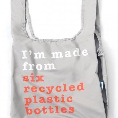 Kind Bag Recycle Grey & Coral - Medium