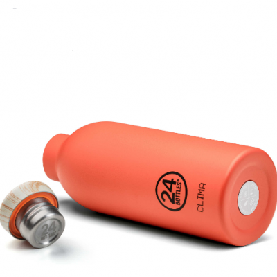 CLIMA BOTTLE - PACHINO (WOODEN LID) 500ML
