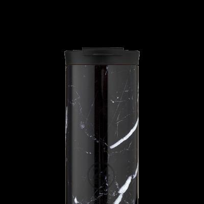 TRAVEL TUMBLER - BLACK MARBLE 600ML
