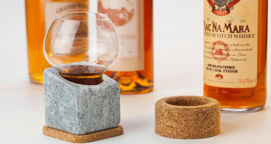 Pedra para refrigerar STENKALL BRUN COOLER _ Täljsten®