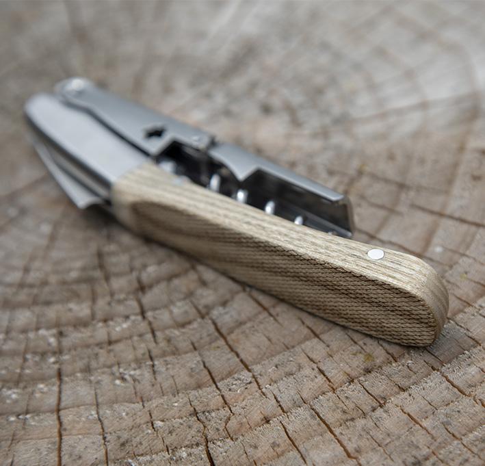"Saca-rolhas / Corkscrew ""Pinot"" – Oak wood"