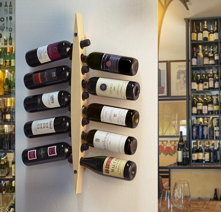 Garrafeira / Wine rack Enoteca light ash wood