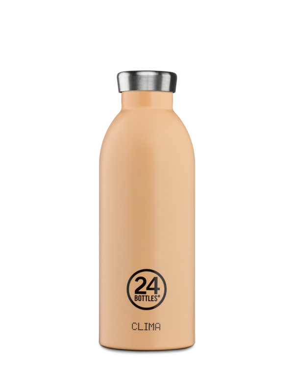 Clima Bottle - Peach Orange 500ml