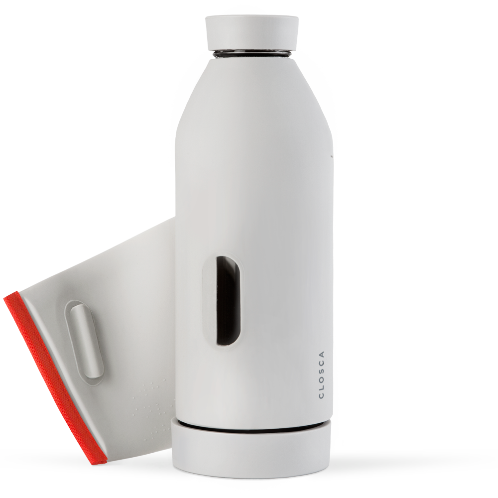 CLOSCA™ BOTTLE White/Coral