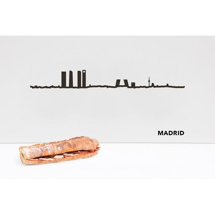 theLine® Small 50 cm - Black _ Madrid