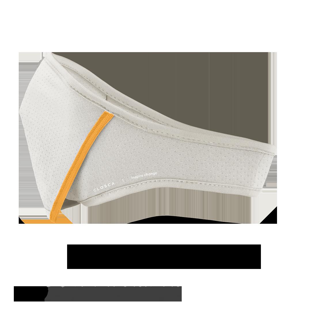 WHITE/SAVANA CLOSCA™ MASK + 6 FILTERS