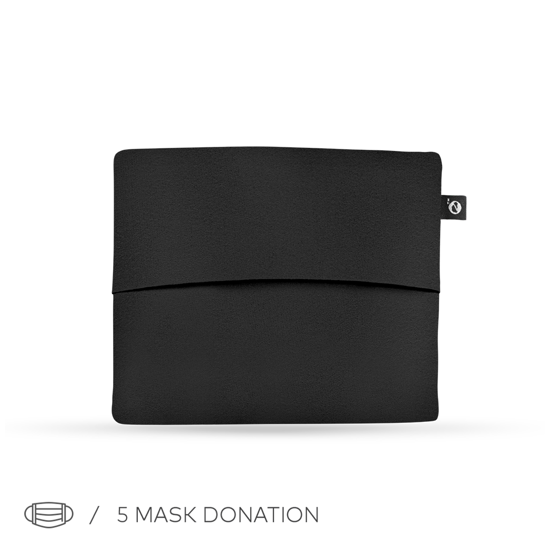 BLACK/CORAL CLOSCA™ MASK + 6 FILTERS