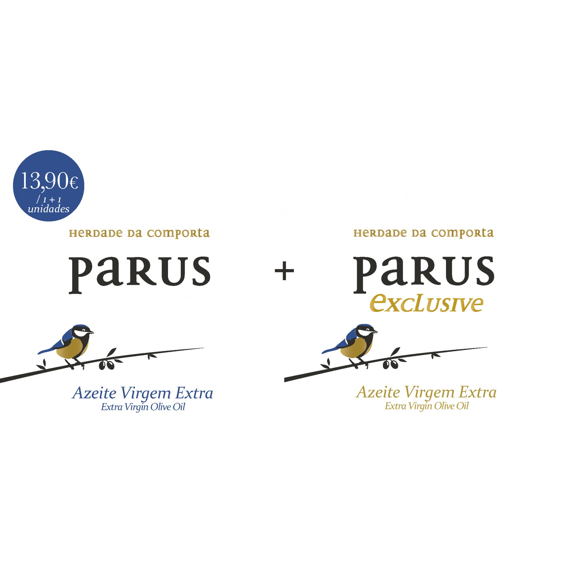 PARUS + PARUS Exclusive AZEITE DE OLIVA EXTRA VIRGEM 500ml