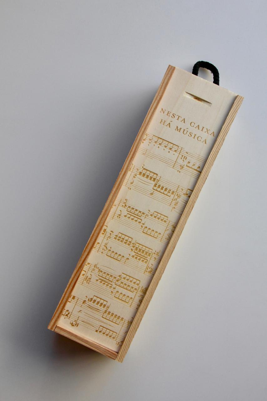 Caixa para 1 garrafa - personalizada