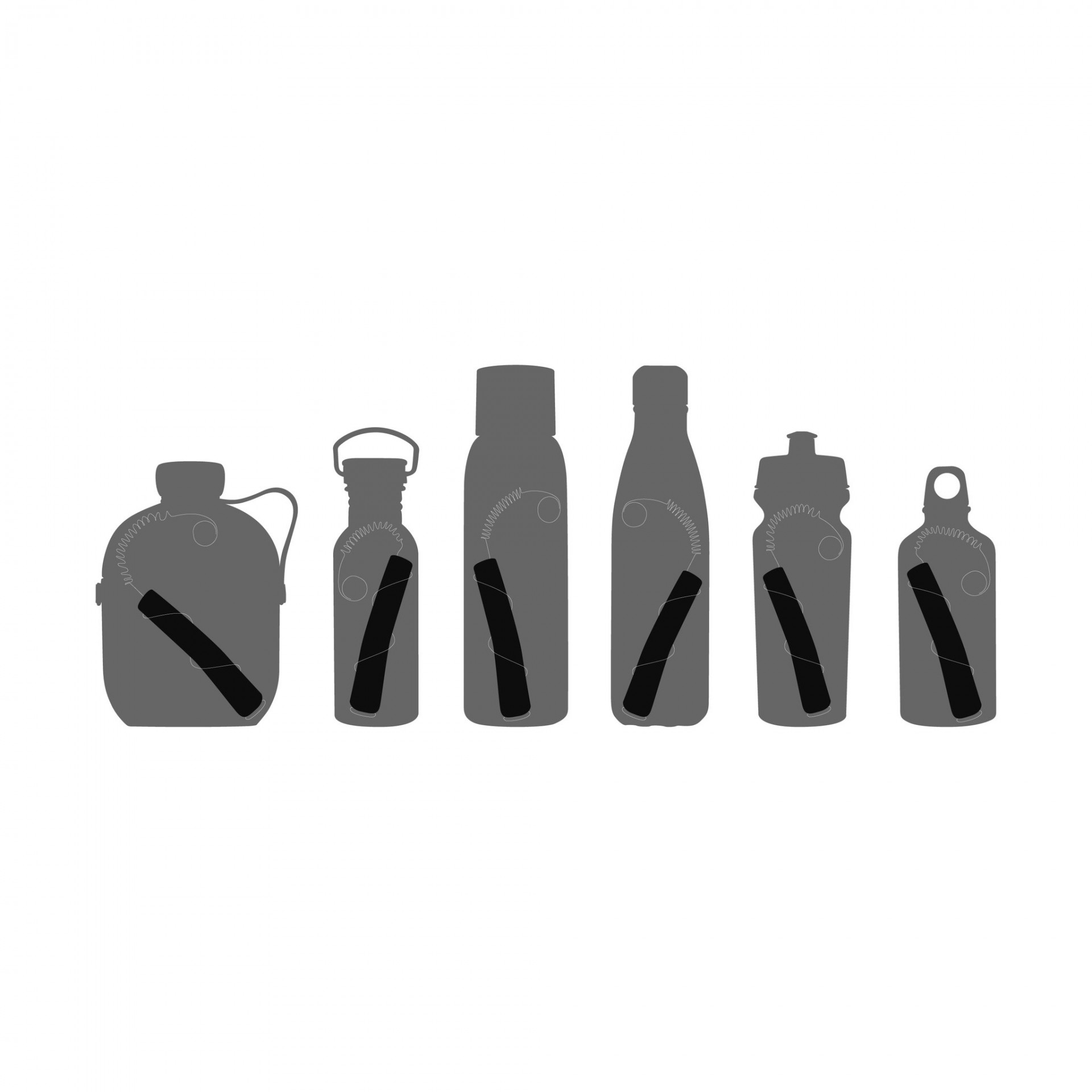 Black + Blum® _ Bottles _ CHARCOAL WATER FILTER & COIL