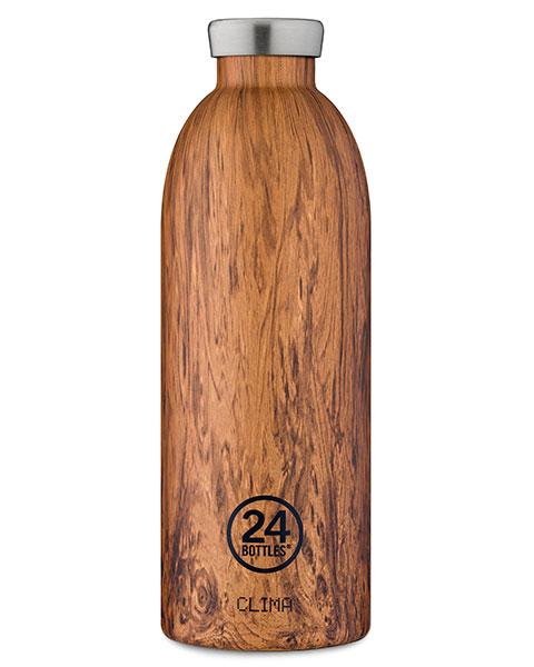 Clima Bottle - Sequioa Wood 850ml