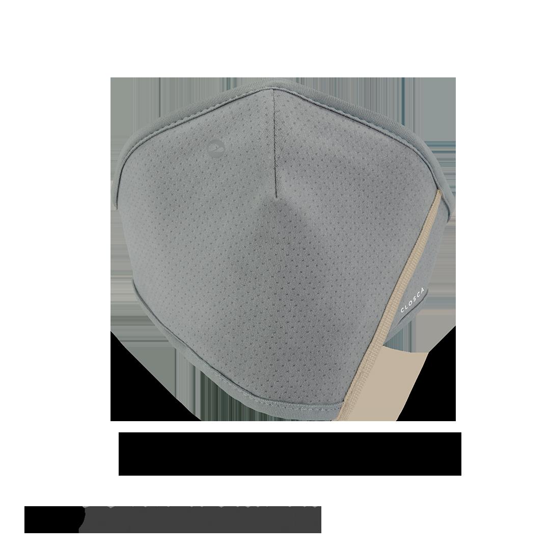 GRAY/BEACH CLOSCA™ MASK + 6 FILTERS