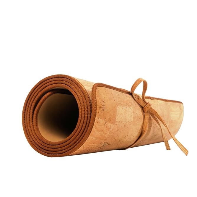 Yoga Cork Mat Light