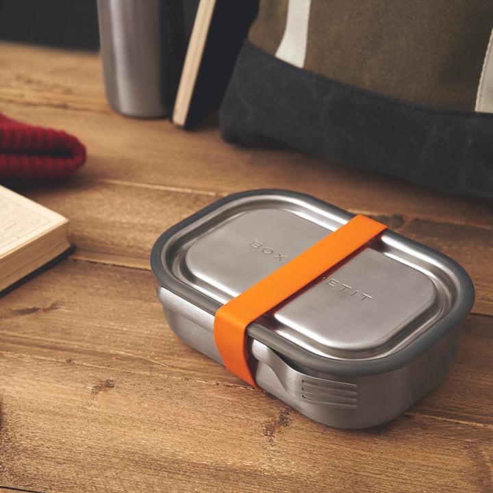 Marmita em Aço Inoxidável / STAINLESS STEEL LUNCH BOX _ ORANGE