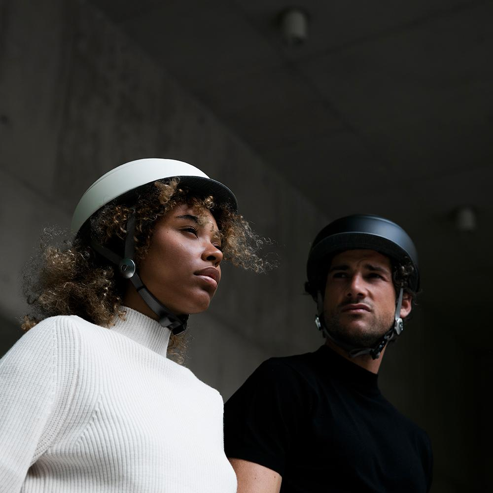 CLOSCA™ HELMET BLACK/BASIC+KALE