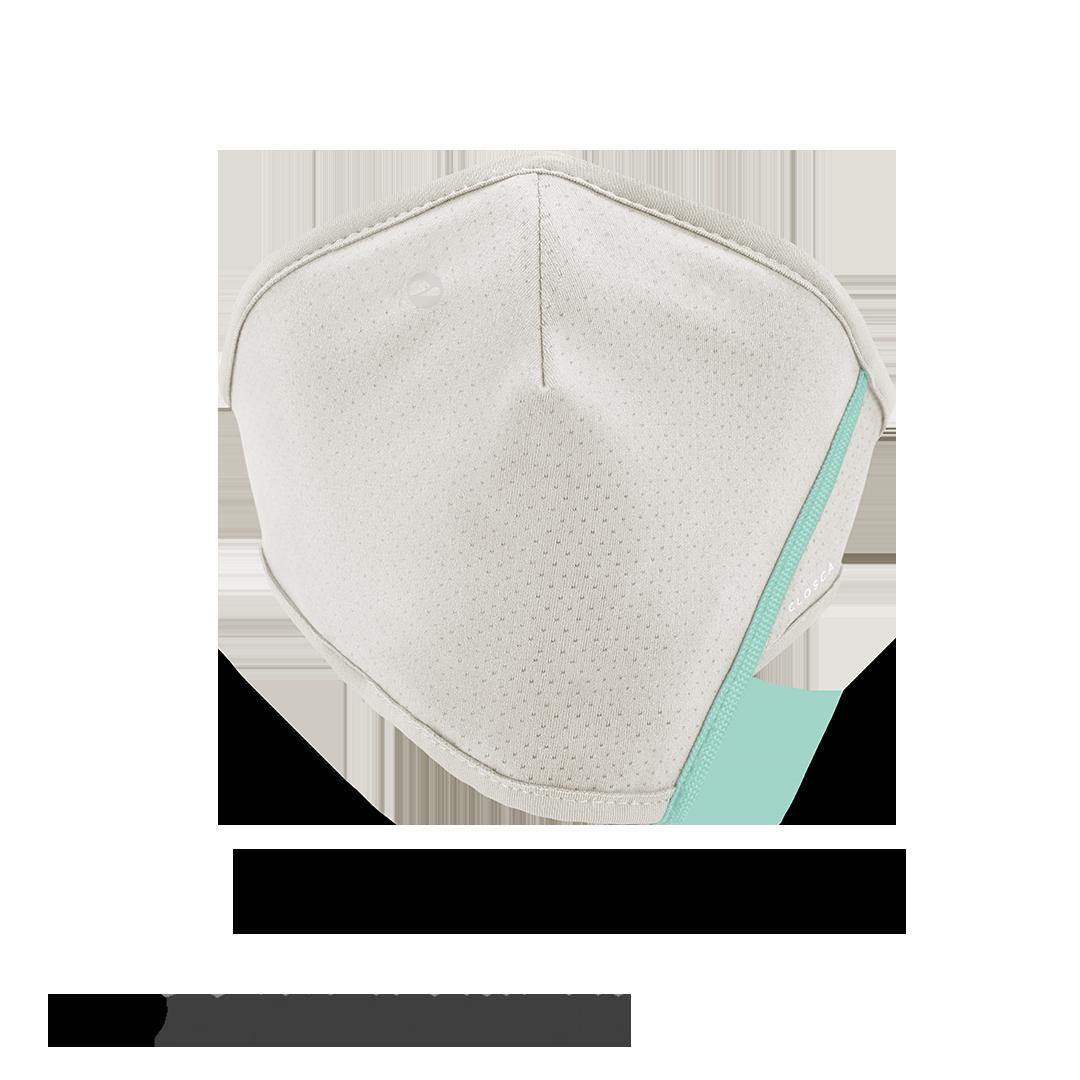 WHITE/GLACIER CLOSCA™ MASK + 6 FILTERS
