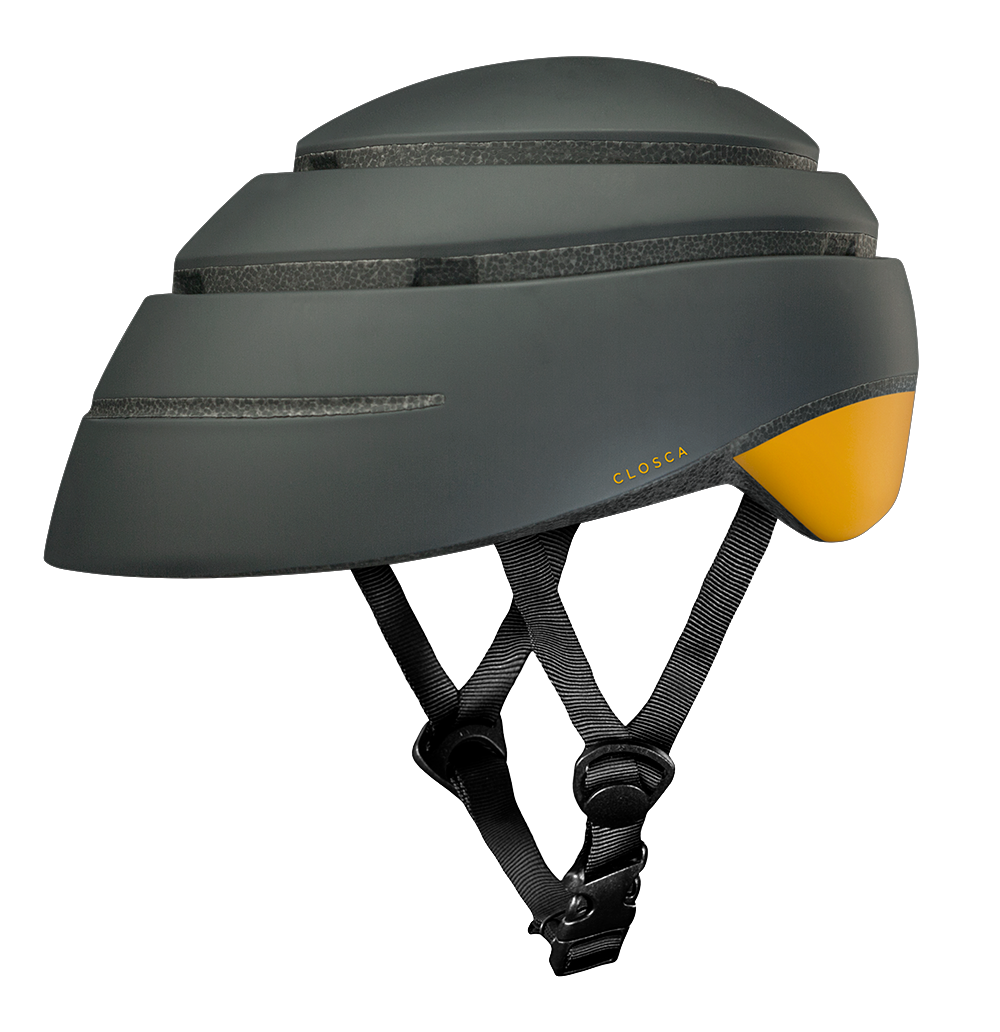 CLOSCA™ HELMET LOOP GRAPHITE/MUSTARD