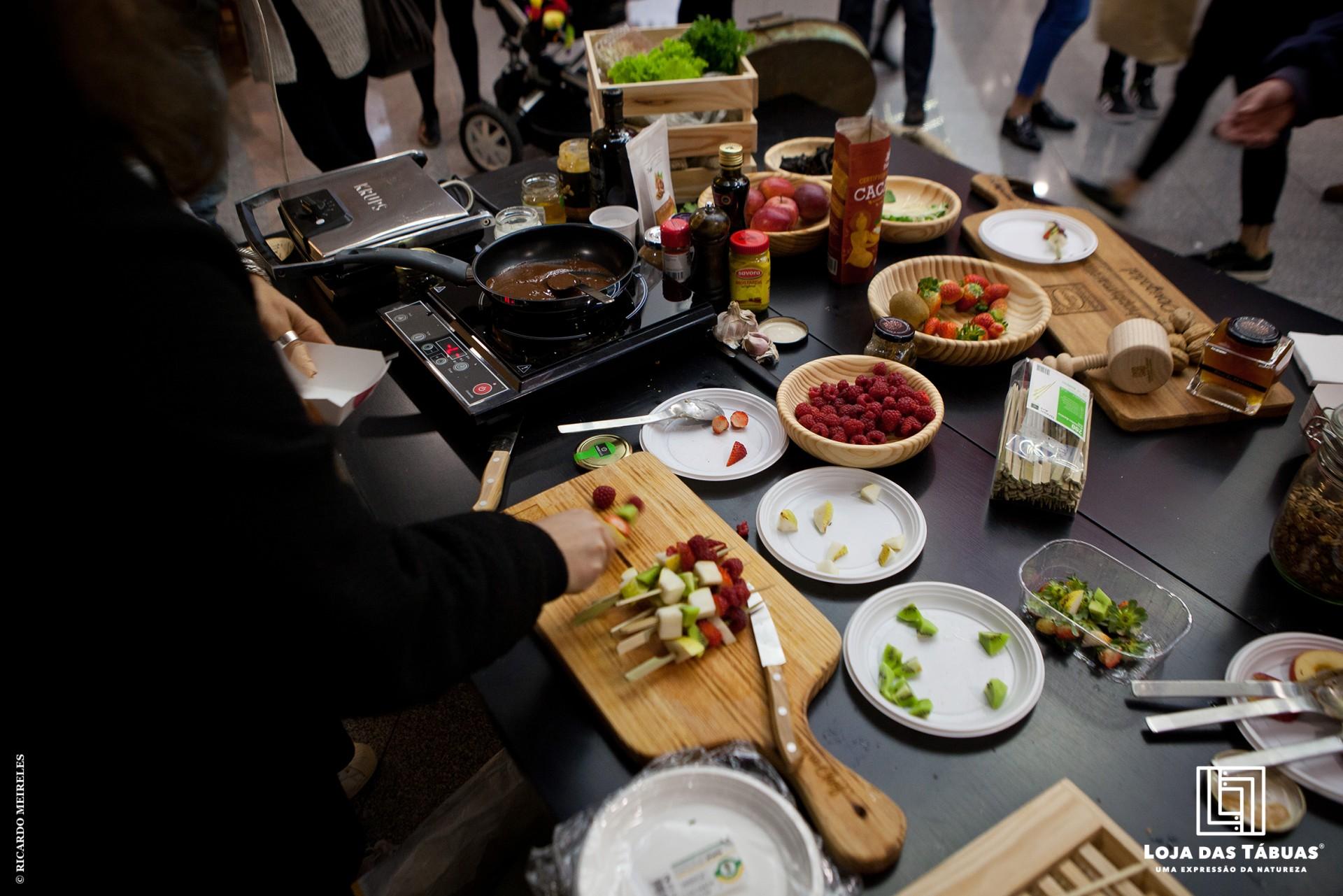 1º Evento de Show cooking - Martilicious Food