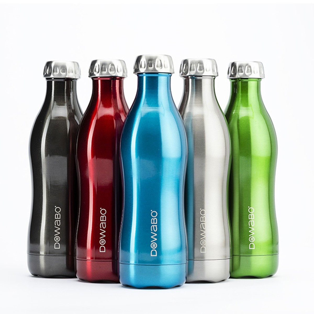 DOWABO® Bottle - Green 750ml Metallic Collection