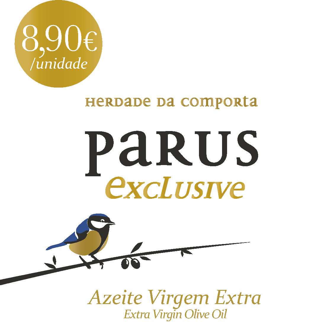 PARUS Exclusive AZEITE DE OLIVA EXTRA VIRGEM 500ml
