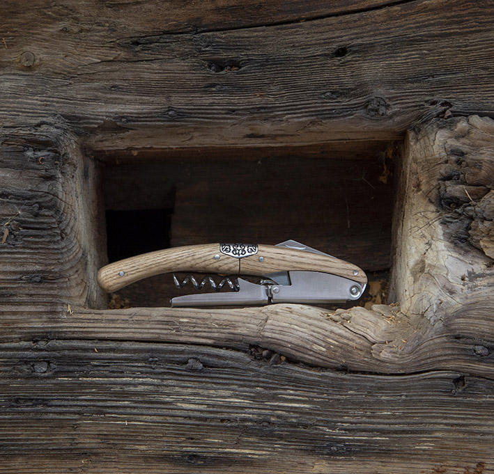 "Saca-rolhas / Corkscrew ""Primitivo"" – oak"