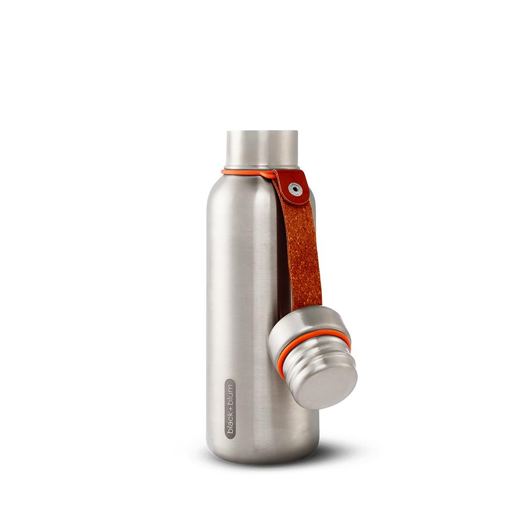 Black + Blum® _ Bottles _ INSULATED WATER BOTTLE SMALL _Orange