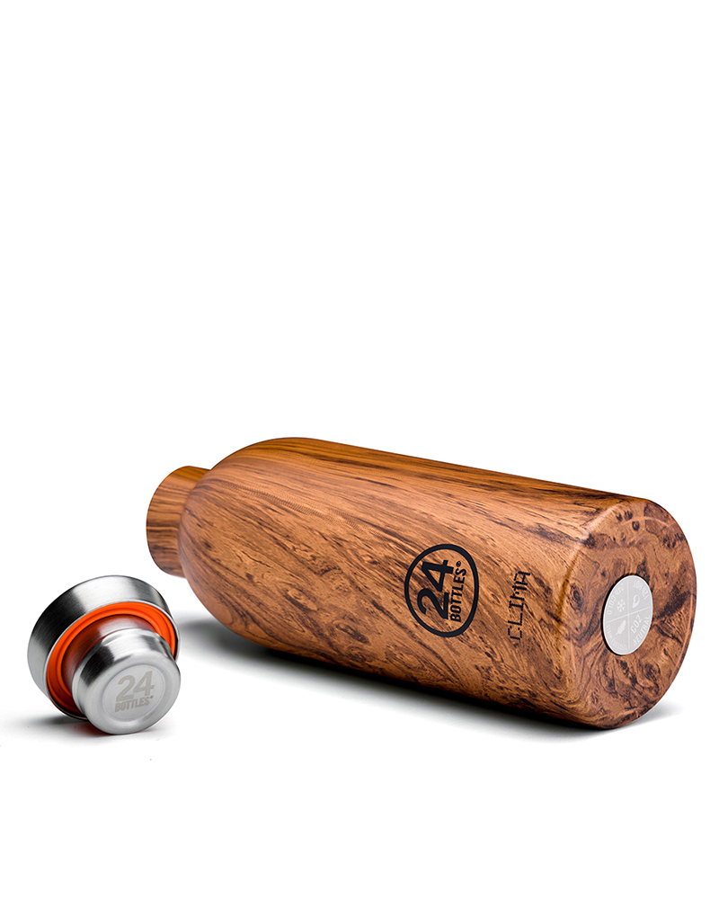Clima Bottle - Sequioa Wood 500ml