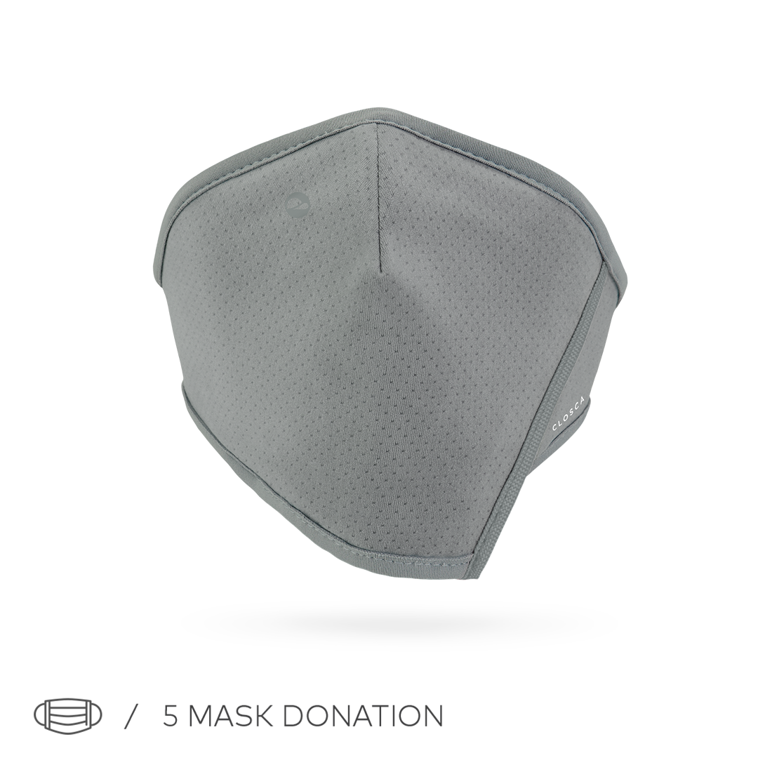 GRAY/NUDE CLOSCA™ MASK + 6 FILTERS