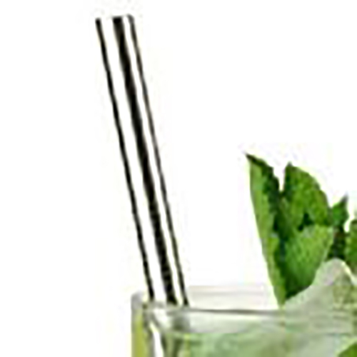 STAINLESS STEEL Drinking Straws (STRAIGHT)