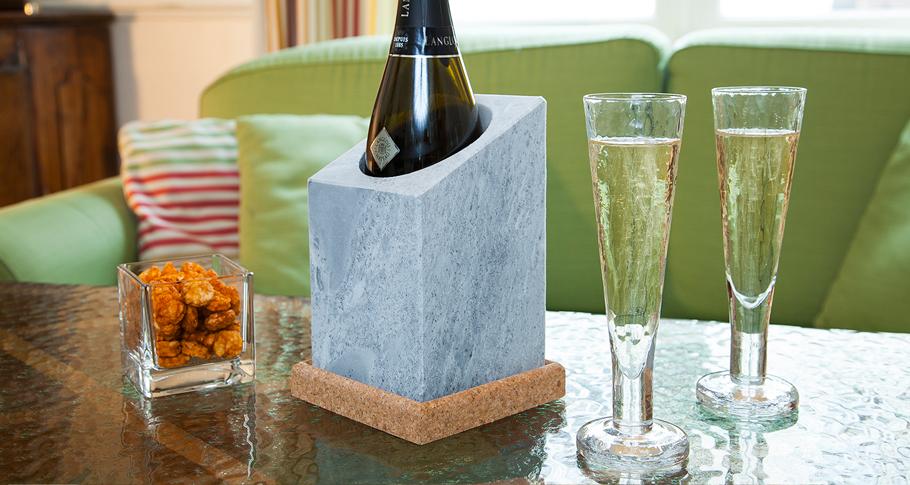 Pedra para refrigerar garrafas VINKYLARE_ Täljsten®