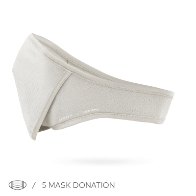 WHITE/NUDE CLOSCA™ MASK + 6 FILTERS