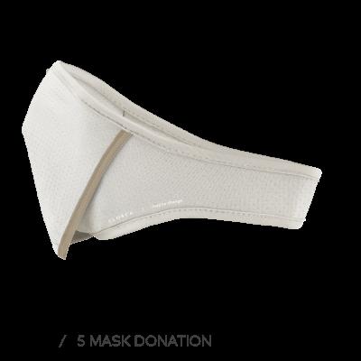 WHITE/BEACH CLOSCA™ MASK + 6 FILTERS