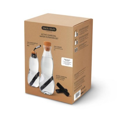 Black + Blum® _ Bottles _ ACTIVE CHARCOAL FILTRATION SET