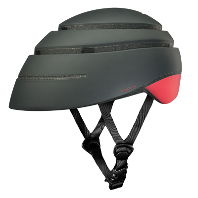 CLOSCA™ HELMET LOOP GRAPHITE/CORAL