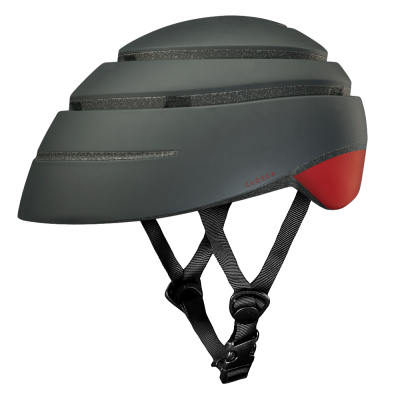 CLOSCA™ HELMET LOOP GRAPHITE/RED WINE