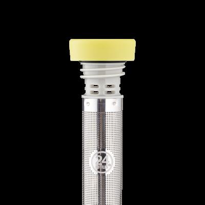 Infuser Bottle _ INFUSER LID – LIGHT YELLOW 500ml